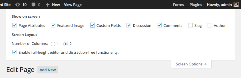gw-submit-to-access-enable-custom-fields