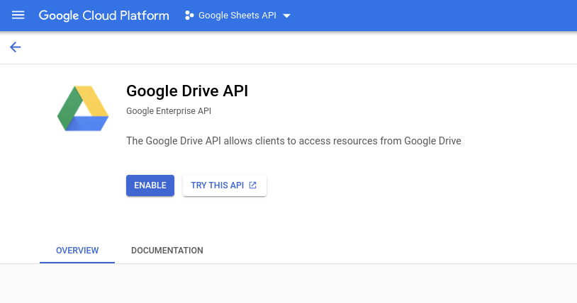 google sheets api for gravity forms